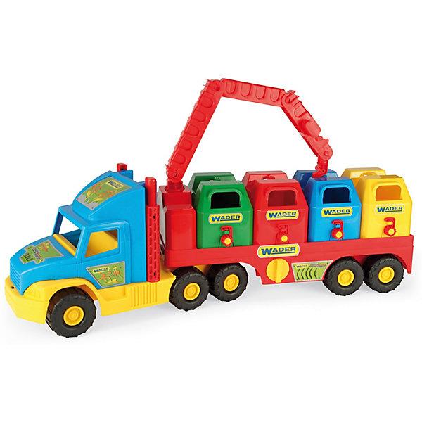 цена на Wader Мусоровоз Wader Super Truck
