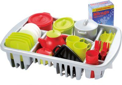 Набор игрушечной посудки Ecoiffier  100% Chef , 45 предметов, артикул:2341541 - Сюжетно-ролевые игры
