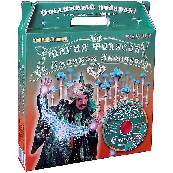 Знаток Зеленый набор Магия фокусов с Амаяком Акопяном с видеокурсом офисные гонки