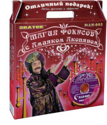 Красный набор  Магия фокусов с Амаяком Акопяном  с видеокурсом, артикул:2403137 - Фокусы и розыгрыши