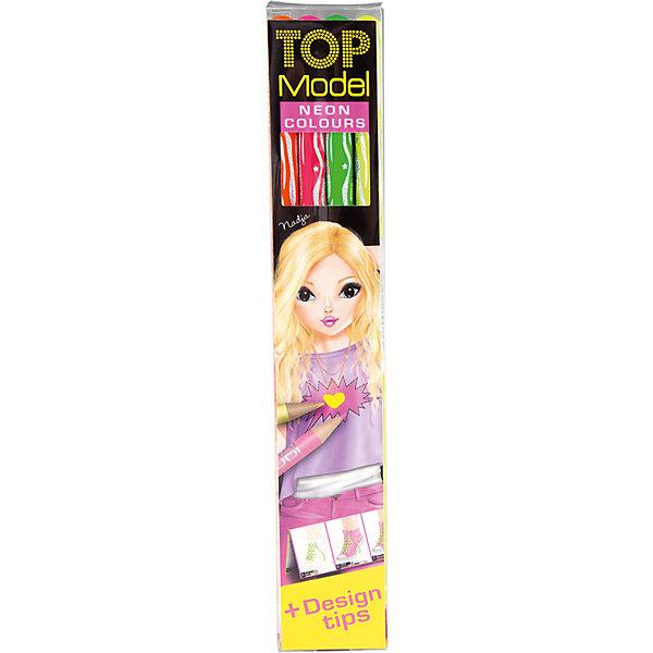 Depesche Набор цветных карандашей Neon, TOPModel рыжий кот набор цветных карандашей школьник к 9868