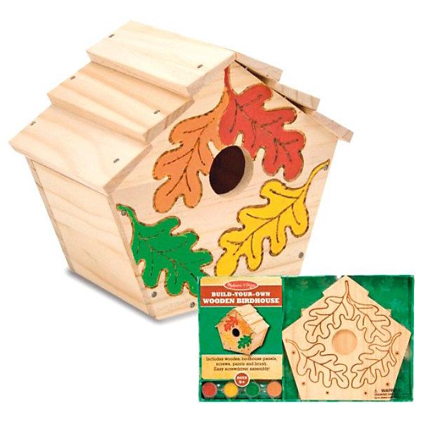 Купить Melissa&Doug Творчество набор Создай свой собственный скворечник , Melissa & Doug, Китай, Унисекс