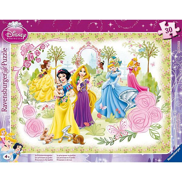 Купить пазл «Принцессы в розовом саду», 30 деталей, Ravensburger (2421514) в Москве, в Спб и в России