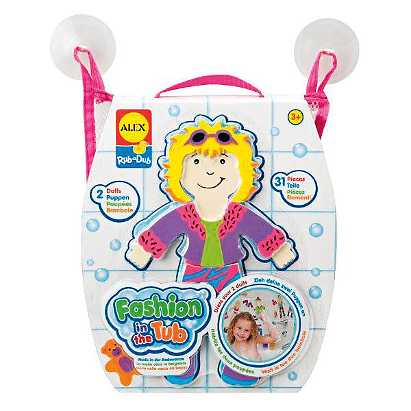 ALEX ALEX Набор фигурок для ванной Одень куклу набор фигурок cut the rope 2 pack 9