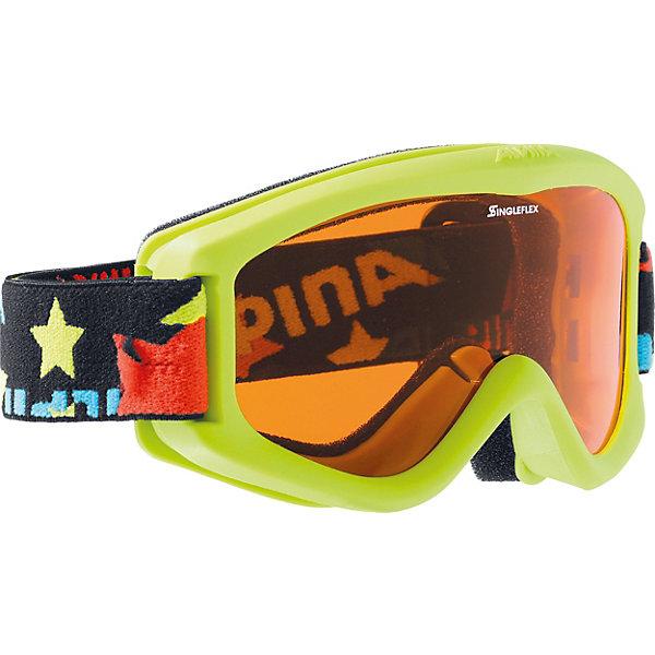 Alpina Горнолыжные очки Alpina CARVY 2.0 SH lime SLT S2/SLT S2 sol slt 011 02
