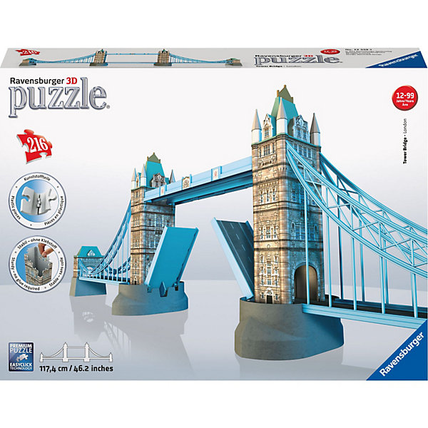 Ravensburger 3D пазл Ravensburger Тауэрский мост в Лондоне