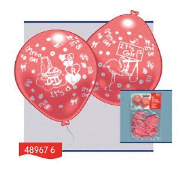 Everts 10 шариков с рисунком Рождение малыша (девочка)Воздушные шары<br>Шарики - это не просто подарок, а еще и отличный способ украсить интерьер на праздник по случаю рождения малыша! Счастливый отец может преподнести своей второй половинке в честь рождения девочки розовые шарики, которые вызовут массу положительных эмоций! Шарики сделаны из безопасных материалов, поэтому играть в них можно с рождения. Надувание шариков способствует развитию дыхательной системы человека, а созерцание развивает эстетическое восприятие.<br>Ширина мм: 150; Глубина мм: 230; Высота мм: 10; Вес г: 65; Возраст от месяцев: 36; Возраст до месяцев: 1188; Пол: Женский; Возраст: Детский; SKU: 2433016;
