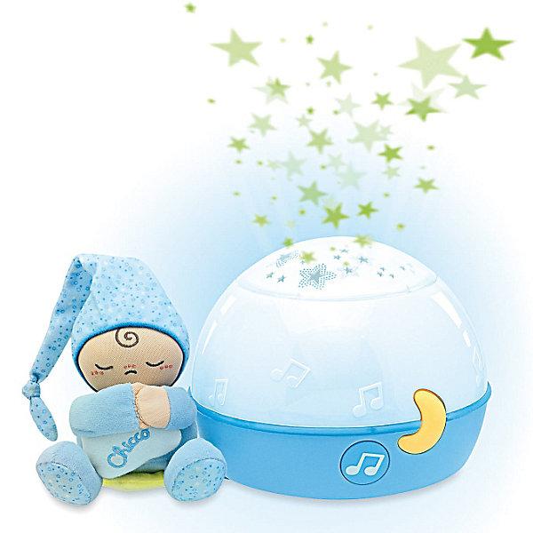 CHICCO Игрушка-проектор Первые грезы, голубой, Chicco
