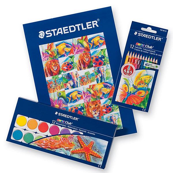 Staedtler Карандаши цветные Noris Club, 12 шт. карандаши цветные noris club jumbo 12 цветов трехгранные точилка 128nc12p1