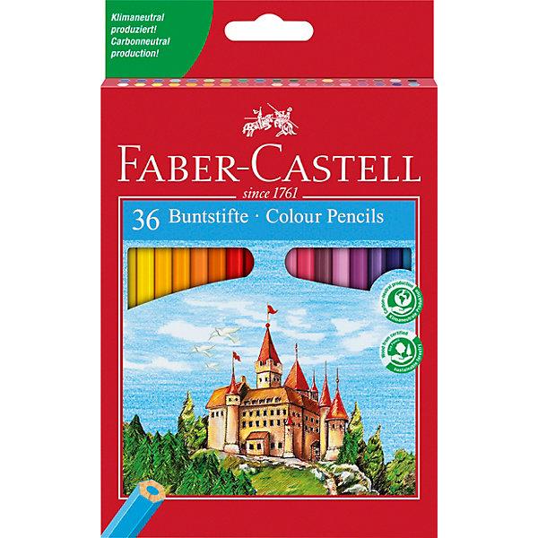 Faber-Castell Карандаши цветные Faber-Castell, 36 цветов