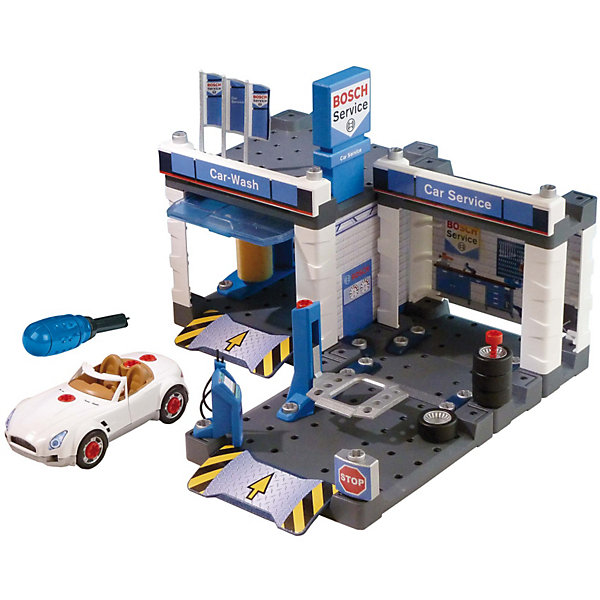 Купить Игровой набор Klein Автосервис Bosch с мойкой, Германия, Мужской