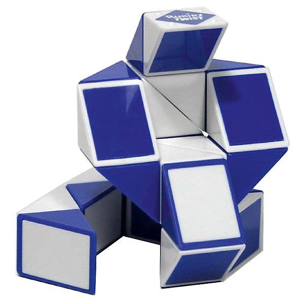 Головоломка Змейка Рубика,RubiksГоловоломки Кубик Рубика<br>Rubiks Змейка Рубика - еще одно творение профессора Рубика, причем не менее популярное, чем Кубик Рубика. <br><br>Змейка сделана из 24 одинаковых треугольников, соединенных между собой.<br><br>Несложный механизм соединения позволяет вращать треугольники между собой таким образом, что в результате может получиться Лебедь или Летучая мышь, или Мяч, или Собака, или.. да все что угодно, ведь эта игрушка собирается в более чем 50 забавных форм. <br>Здесь нет верных и неверных ответов - все зависит от Вашей фантазии! <br>Кстати, по статистике продаж Змейка уверенно занимает второе место после кубика Рубика, немногим ему уступая!<br> <br>В качестве развивающей игрушки, Змейка тренирует воображение, а также умение видеть образы и формы. Эта головоломка вас обязательно очарует!<br><br><br>Дополнительная информация:<br><br>- На странице Инструкции смотрите ссылку на сайт производителя с 3х-мерными моделями множества форм, в которые можно сложить Змейку.<br>- Сложность: 1/5<br>- Размер игрушки: 43,1 x 2,54 х 1,27 см<br>- Тип упаковки: 6-гранник из прозрачного пластика.<br>Ширина мм: 120; Глубина мм: 120; Высота мм: 160; Вес г: 210; Возраст от месяцев: 60; Возраст до месяцев: 1188; Пол: Унисекс; Возраст: Детский; SKU: 2504419;