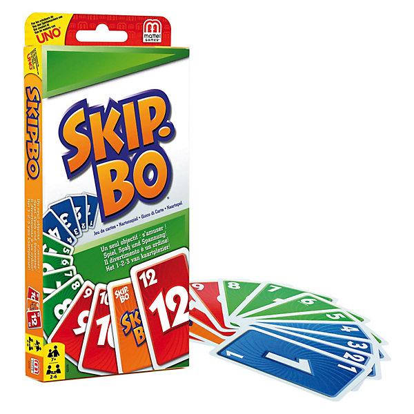 Mattel Карточная игра Skip-Bo