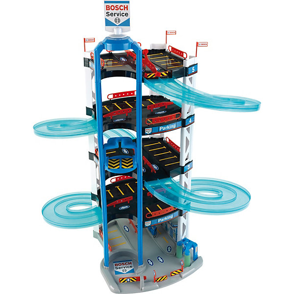 Игровой набор Klein Bosch Парковка, пятиуровневая