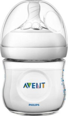 Бутылочка для кормления Natural 125 мл, соска медленный поток, 0-6мес., AVENT, артикул:2541268 - Кормление малыша
