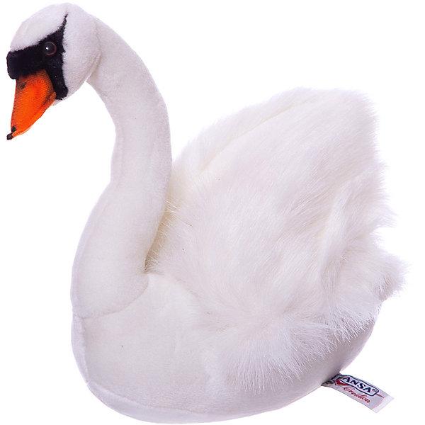 Фотография товара hansa Белый лебедь, 32 см (2541747)