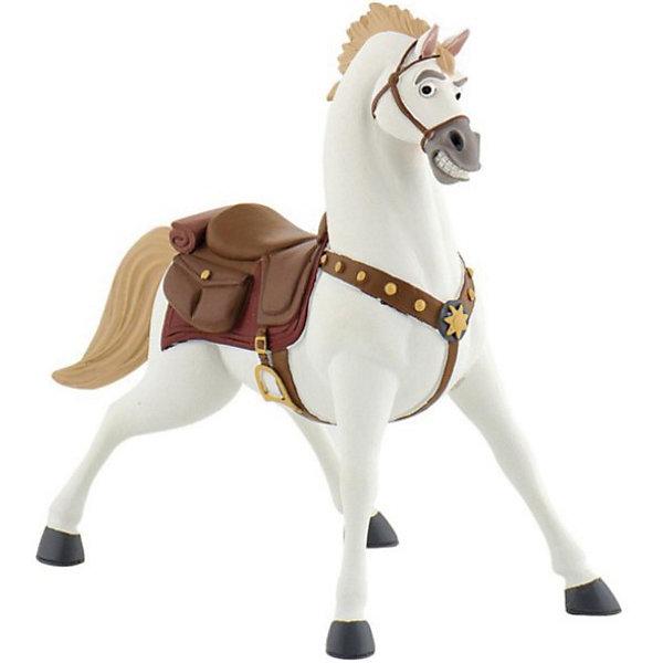 Фигурка Максимус,  DisneyФигурки из мультфильмов<br>Фигурка коня Максимуса из мультфильма Уолта Диснея «Рапунцель». Конь королевской гвардии, храбрый и своенравный, стремительно идущий к своей цели. Повстречав Рапунцель, он был потрясен ее историей и стал ей другом. Именно Максимус, гениальный стратег и бесстрашный вояка, спас от гибели юную принцессу и ее спутника. Белоснежный красавец Максимус в сбруе и со звездой на мощной груди обязательно понравится детям. С фигуркой коня можно разыграть различные сюжеты из мультфильма, или придумать их самим. Игрушка выполнена из высококачественных нетоксичных материалов, безопасна для детей. <br><br>Дополнительная информация:<br><br>Размер:9,5см <br>Материал: термопластичный каучук высокого качества. <br> <br>Фигурку Максимус,  Disney можно купить в нашем магазине.<br>Ширина мм: 99; Глубина мм: 119; Высота мм: 66; Вес г: 58; Возраст от месяцев: 36; Возраст до месяцев: 96; Пол: Женский; Возраст: Детский; SKU: 2552950;