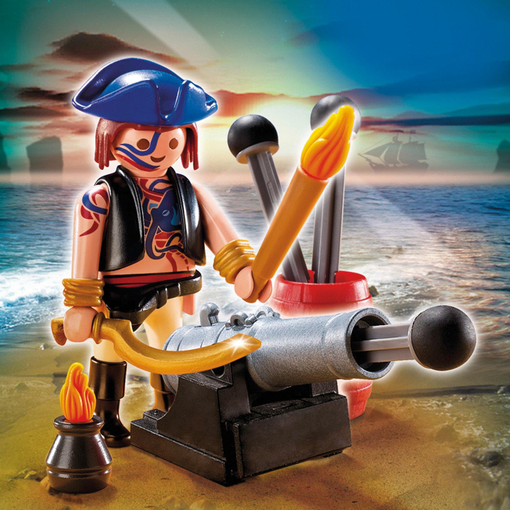 PLAYMOBIL 5413 Дополнение: Пират с пушкой