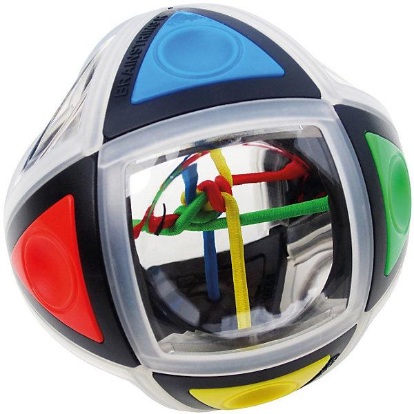 Головоломка BrainString R, Recent ToysГоловоломки - лабиринты<br>Головоломка BrainString R, Recent Toys<br><br>Характеристика:<br><br>-Возраст: от 7 лет<br>-Размер: 9,3 см<br><br>Задача головоломки довольно сложная : распутать цветные нити можно только путем вращений и поворотов поверхности шара. Внутри головоломки всего 4 нити разных цветов, которые хорошо просматриваются через специальные окошки-иллюминаторы на поверхности шара. Шар состоит из небольших деталей, соединенных особым способом, что позволяет поворачивать полусферы головоломки в различных плоскостях, перемещая таким образом цветные нити. Важная особенность BrainString-R в том, что шар сам помогает найти решение и распутать цветные резиночки в центре шара. Такая головоломка отлично развивает логическое мышление и зрительное восприятие. <br><br>Головоломка BrainString R, Recent Toys можно приобрести в нашем интернет-магазине.