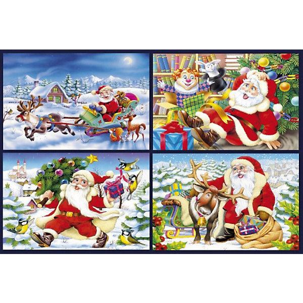 Купить Пазлы Новый год , 80 деталей, Castorland, Польша, Унисекс