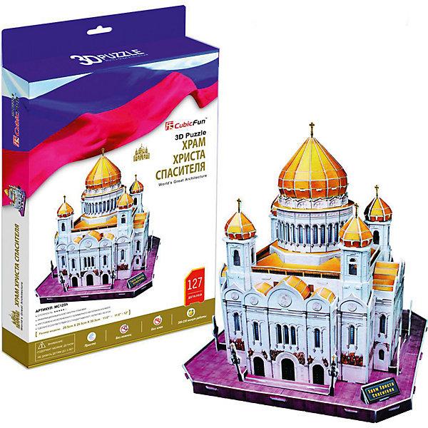 CubicFun Пазл 3D Храм Христа Спасителя, 127 деталей, CubicFun
