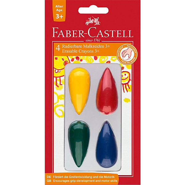 Faber-Castell Набор мелков Fabler Castell, 4 шт