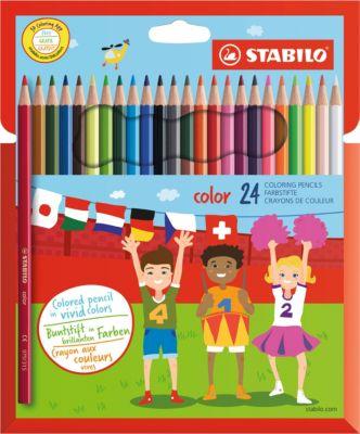 Набор цветных карандашей 24 цв., артикул:2606804 - Рисование и раскрашивание
