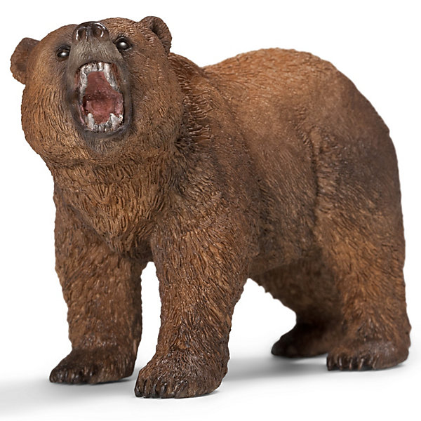Schleich Коллекционная фигурка Schleich Дикие животные Медведь Гризли schleich фигурка олень зинаи