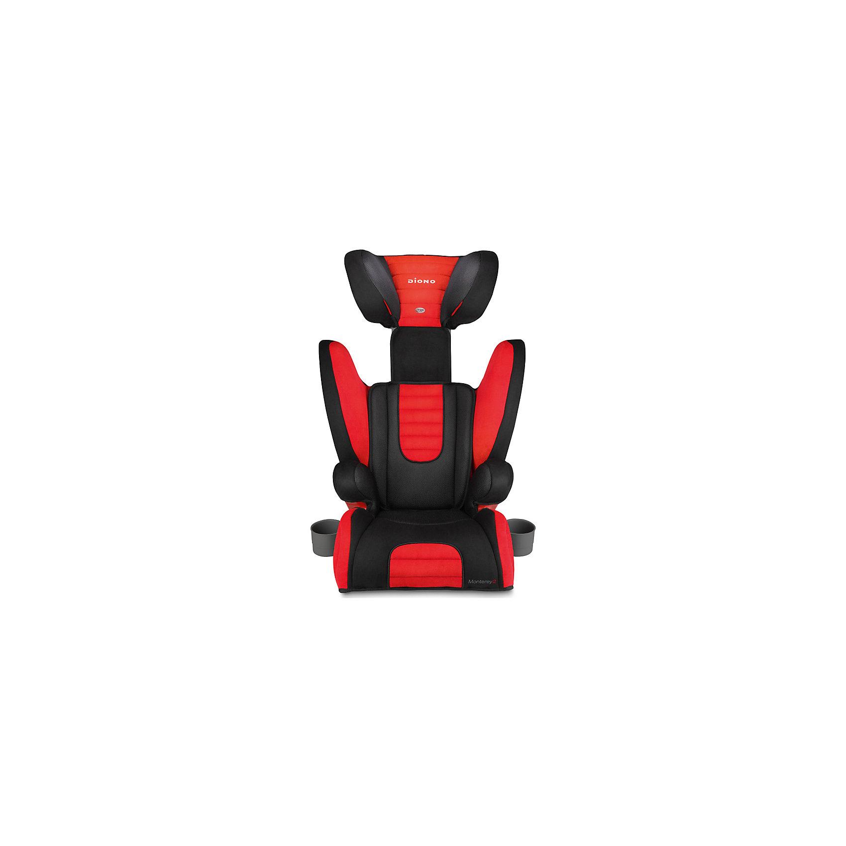 Автокресло Diono Monterey 2, 15-36 кг, Red