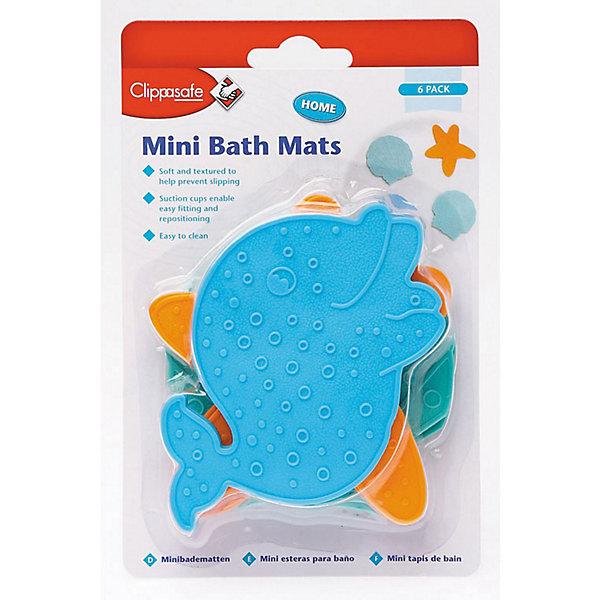 лучшая цена Clippasafe Мини-коврики против скольжения для ванной