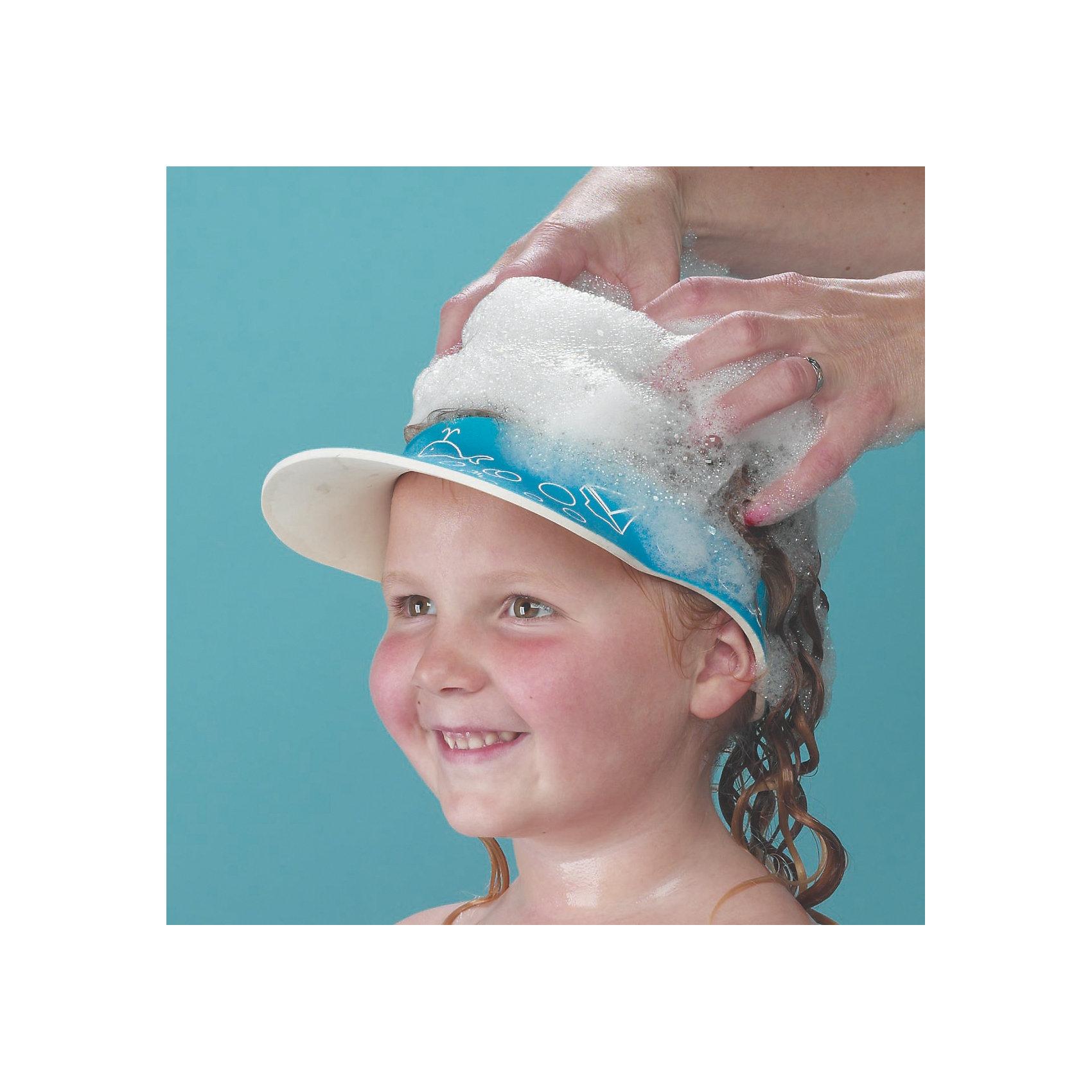 Защитный козырек для купания ребенка, Clippasafe, голубой