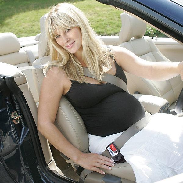 - Автомобильный ремень для беременных, Clippasafe, черный clippasafe защита для розеток clippasafe белый
