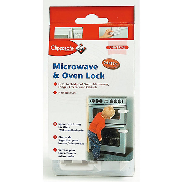 Clippasafe Защитный замок для микроволновой печи/духовки