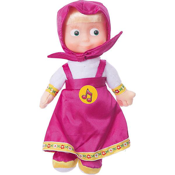 Мульти-Пульти Мягкая кукла Маша, 22 см., Маша и Медведь, МУЛЬТИ-ПУЛЬТИ