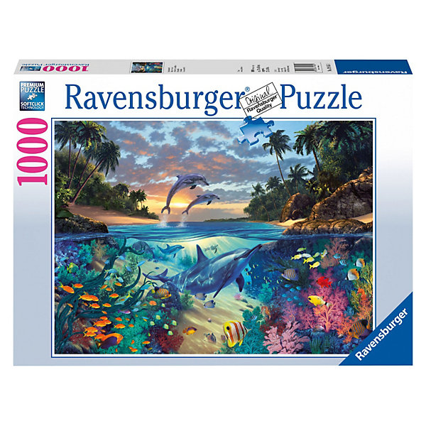 Ravensburger Пазл Коралловый залив Ravensburger, 1000 деталей пазл ravensburger сейшелы 1500 элементов