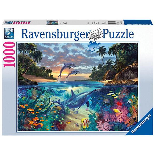 Ravensburger Пазл Коралловый залив Ravensburger, 1000 деталей пазл ravensburger озеро эйб 1000 элементов