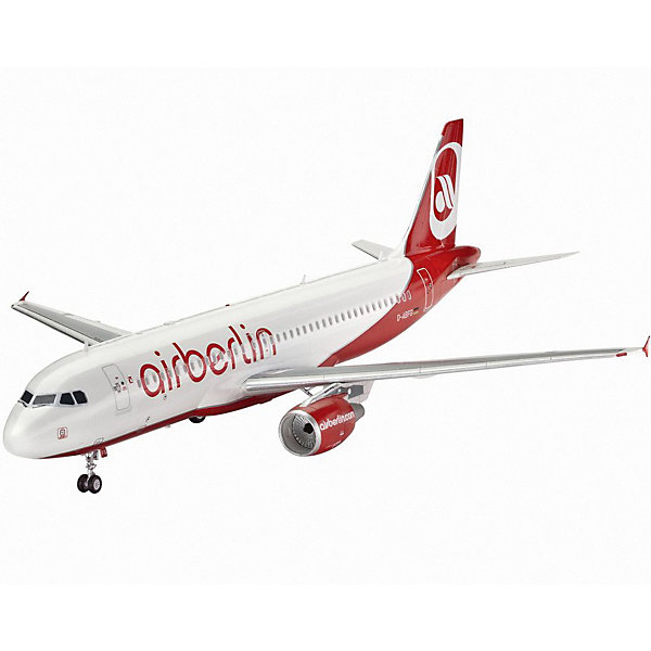 Revell Набор Самолет Пассажирский Airbus A320 AirBerlin pair of gold plated polished big hoop earrings
