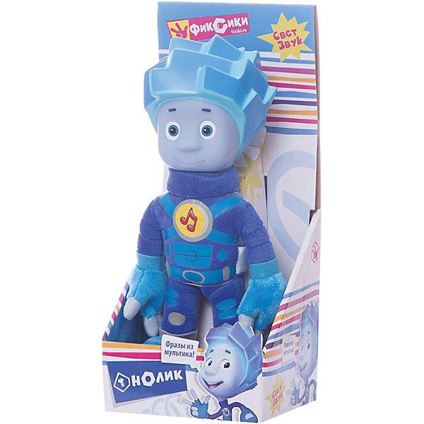 Мягкая игрушка Мульти-Пульти Фиксики Нолик, озвученная, со светом, 24 см