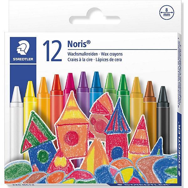 Мелок восковой d=8мм, 12 цв., StaedtlerМасляные и восковые мелки<br>Мелок восковой d=8мм, 12 цв., Staedtler - это прекрасный подарок Вашему ребёнку.<br>Мелки восковые Staedtler 12 цветов – это уникальный, интересный, развивающий канцелярский набор цветных восковых мелков, который будет интересен и полезен детям младшего и младшего школьного возраста.<br>В набор входит 12 разноцветных восковых мелков, круглой формы, упакованных в яркую картонную коробку, дизайн которой обязательно привлечет внимание маленьких художников. Сами мелки устойчивы к поломке, удобны и просты в использовании. Необходимо только раскрыть упаковку, извлечь из нее восковой мелок необходимого цвета. Бумажная манжетка на мелке не позволит ему скользить в руке. Одним из достоинств этих мелков является то, что каждый из них в полной мере является рабочим материалом, без остатка. Данными мелками при желании можно рисовать на любой поверхности, как гладкой, так и шероховатой. Мелок будет мягко и легко скользить по поверхности, на которую наносится рисунок. Одним из главных преимуществ данного набора мелков является абсолютная безопасность для здоровья Вашего ребёнка, они не содержат вредных примесей и не вызывают различных аллергических реакций. Рисование восковыми мелками будет способствовать развитию воображения, фантазии, мелкой моторики рук и эстетическому восприятию окружающей среды.<br><br>Дополнительная информация:<br><br>- В комплекте: мелки восковые разных цветов: 12 шт.<br>- Диаметр: 8 мм.<br><br>Мелок восковой d=8мм, 12 цв., Staedtler можно купить в нашем интернет-магазине.<br>Ширина мм: 111; Глубина мм: 106; Высота мм: 11; Вес г: 66; Возраст от месяцев: 72; Возраст до месяцев: 1188; Пол: Унисекс; Возраст: Детский; SKU: 3150967;