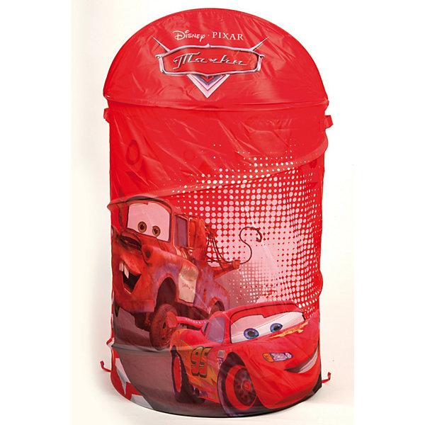 Корзина для игрушек, Тачки, Играем вместеКорзины для игрушек<br>Яркая и красивая корзина для игрушек с принтом Тачки (Cars).<br><br>Такая корзина является не только удобным приспособлением для хранения игрушек, но также и своеобразным украшением детской.<br><br>Дополнительная информация:<br><br>- Корзина выполнена из легкого и плотного материала;<br>- Легко стирается и чистится;<br>- Легко собирается;<br>- Каркас - пружинная спираль, которая хорошо держит форму;<br>- В сложенном состоянии корзина занимает мало места.<br>- Размеры: 45 х 50 см.<br>Ширина мм: 400; Глубина мм: 400; Высота мм: 30; Вес г: 580; Цвет: красный; Возраст от месяцев: 0; Возраст до месяцев: 168; Пол: Унисекс; Возраст: Детский; SKU: 3156364;