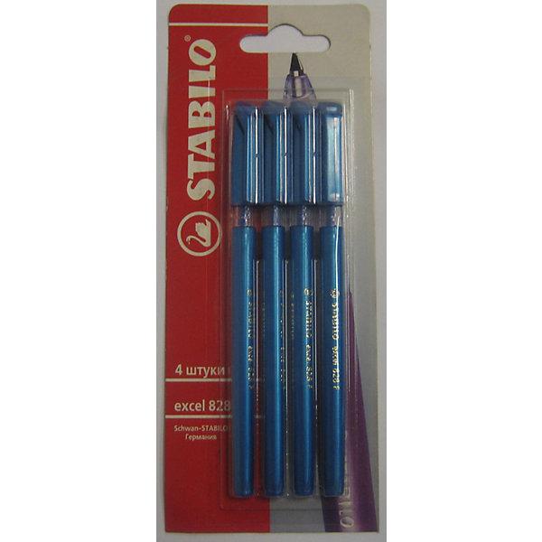 STABILO GALAXY Ручка синяя, 4штРучки<br>Stabilo GALAXY ручка шариковая синяя в  блистере 4 шт. Удобные, легкие ручки на любой вкус. Цвет корпуса из полупрозрачного пластика с эффектом мерцания варьируется в зависимости от  цвета чернил. Специальная технология фиксирования пишущего шарика защищает от утечки чернил, обеспечивает тонкую аккуратную линию и мягкое скольжение.<br>Ширина мм: 295; Глубина мм: 245; Высота мм: 160; Вес г: 40; Возраст от месяцев: 72; Возраст до месяцев: 216; Пол: Унисекс; Возраст: Детский; SKU: 3157361;