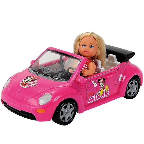 Кукла Еви, 12 см, SimbaКуклы<br>Характеристики:<br><br>• высота куклы Еви: 12 см;<br>• длина кабриолета: 22 см;<br>• аксессуары: ободок для Еви, чемодан на колесиках;<br>• материал: пластик, текстиль;<br>• размер упаковки: <br><br>Кукла Еви за рулем красного кабриолета выглядит шикарно. Еви отправляется в аэропорт, откуда и полетит на отдых. В чемоданчике Еви собраны самые необходимые для отпуска вещицы. В кабриолете не открываются дверцы, благодаря откидному верху Еви легко садится за руль. <br><br>Кукла Еви, 12 см, Кабриолет, Simba можно купить в нашем магазине.<br>Ширина мм: 123; Глубина мм: 258; Высота мм: 162; Вес г: 366; Возраст от месяцев: 36; Возраст до месяцев: 72; Пол: Женский; Возраст: Детский; SKU: 3159660;