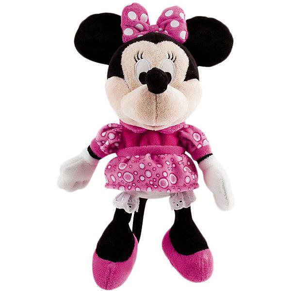 Купить Disney Мягкая игрушка Минни: Минни Маус , 34 см, звук, IMC Toys, Китай, Женский