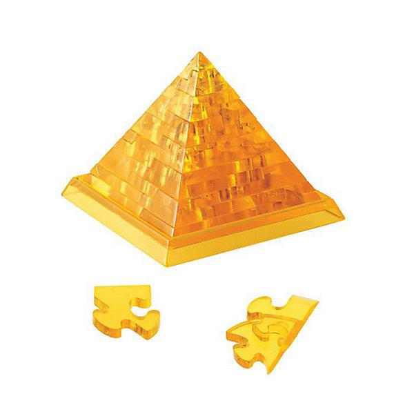 Кристаллический пазл 3D Пирамида L, CreativeStudioКристаллические пазлы<br>Объемные головоломки воплощают в себе удачное сочетание тренажера для ума и приятного подарка близким, ведь процесс сборки 3D пазлов развивает пространственное мышление, память, логику и внимательность, а полученную в результате вещицу можно преподнести в качестве небольшого сувенира.<br>Ширина мм: 180; Глубина мм: 40; Высота мм: 135; Вес г: 178; Возраст от месяцев: 36; Возраст до месяцев: 1188; Пол: Унисекс; Возраст: Детский; SKU: 3164122;