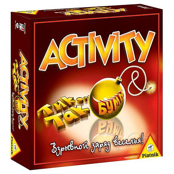 Piatnik Набор игр ACTIVITY + Tик Так Бумм настольная игра piatnik activity тик так бумм 738791