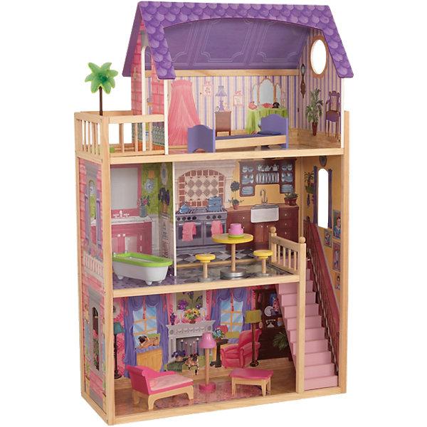 KidKraft Деревянный домик для кукол KidKraft кайла, с мебелью кукольный домик kidkraft кайла с мебелью
