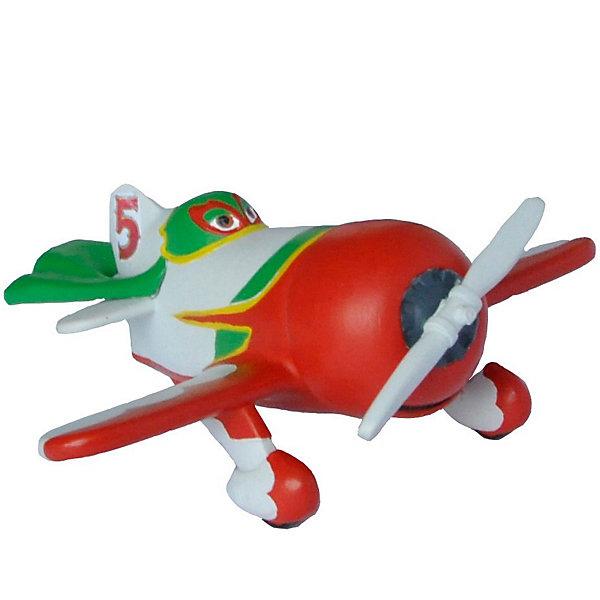 Фигурка Эль Чу,  СамолётыФигурки из мультфильмов<br>Фигурка самолетика Эль Чу из мультфильма компании Уолта Диснея «Самолеты». Очень красивый персонаж. Элт Чу родом из Мексики, он прилетел на Мировое Авиаралли. Обладатель большого, мощного мотора, Эль Чу является реальным претендентом на победу. На гонках выступает под номером 5. Игрушка выполнена из высококачественных, нетоксичных материалов и безопасна для детей. <br><br>Дополнительная информация:<br><br>Размер:85х75х40 мм<br>Материал: термопластичный каучук высокого качества. <br> <br>Фигурку Эль Чу,  Самолёты можно купить в нашем магазине.<br>Ширина мм: 119; Глубина мм: 88; Высота мм: 25; Вес г: 13; Возраст от месяцев: 36; Возраст до месяцев: 96; Пол: Мужской; Возраст: Детский; SKU: 3188751;