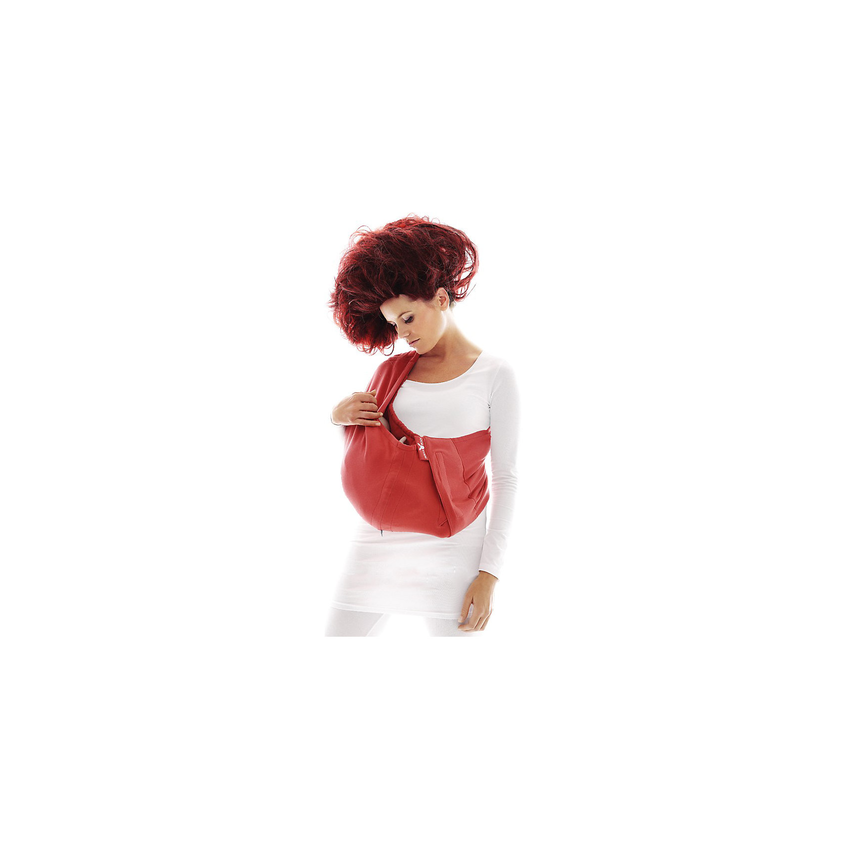 Слинг-петля из хлопка Poppy, Wallaboo, красный