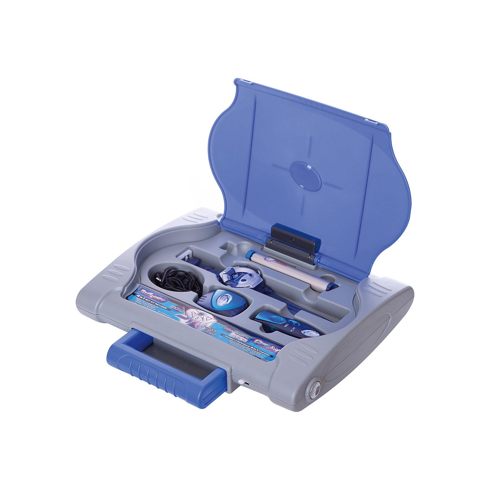 Eastcolight Кейс шпиона 4 в 1: компактное подслушивающее устройство, диктофон, шпионские часы