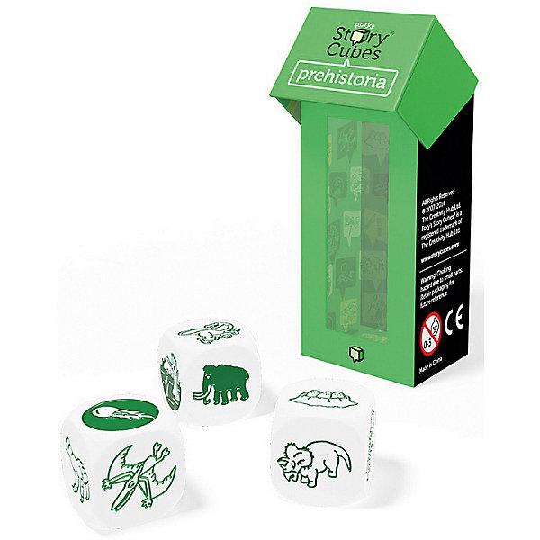 Rory's Story Cubes Дополнительный набор Динозавры, Кубики Историй настольная игра лаборатория игр rory s story cubes кубики историй путешествия 9 кубиков